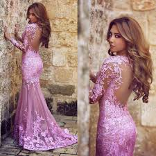 2015 new lace prom dresses sweetheart neckline backless formal