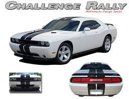 2012 dodge challenger kit challenger rally vinyl graphics racing stripes kit 2008 2009