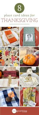 8 unique and easy to make thanksgiving place cards thanksgiving