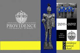 classical high school yearbook providence classical high school awarded honorable mention cover