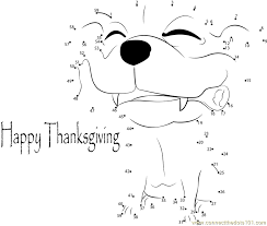 Happy Thanksgiving And Happy Holidays Free Happy Thanksgiving Day Dot To Dot Printable Worksheet