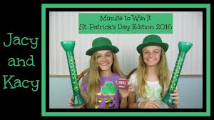 minute to win it challenge st patrick u0027s day edition 2016 jacy