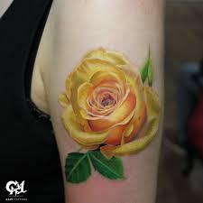age studio tattoos flower color