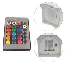 Moon Light For Bedroom by 24 Key Remote Control Rgb Led Table Light White Art Light Moon And