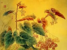 Flower And Bird - flowers and birds gongbi paintings by zou chuan an