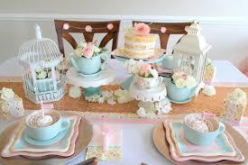 bridal shower tea party unique bridal shower tea party table decorations decorating