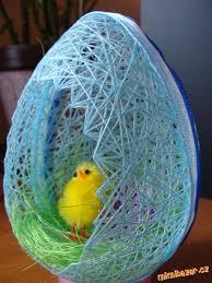easter egg basket diy easter egg basket from thread