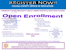 career technical education colusa coe