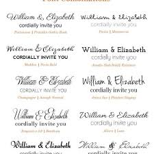 wedding invitations font 20 popular wedding invitation fonts premium printable