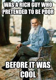 Rich Guy Meme - was a rich guy who pretended to be poor before it was cool hipster
