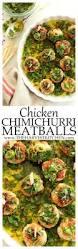 chicken chimichurri cocktail meatballs the harvest kitchen