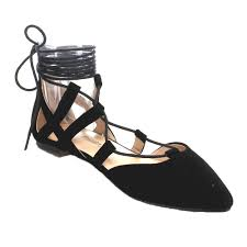 Closed Toe Sandals With Heel Beston Bb76 Women U0027s Lace Up Pointed Toe Closed Back Gladiator Flat