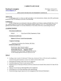 Biomedical Engineering Resume Samples by Instrument Commissioning Engineer Resume Sample