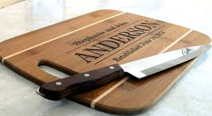 personalized wedding cutting board custom family name sign cutting board cheese board engraved