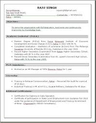 Sample Resume Of It Professional by Mba Hr Resume Format Resume Format