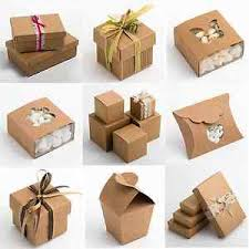gift boxes rustic kraft shabby chic wedding favour gift boxes ebay