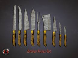 zombie survival series kitchen knives and cast iron unity community