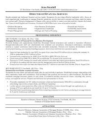 director of finance resume financial services resume madrat co