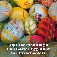 easter egg hunt ideas have a preschool easter egg hunt tips u0026 ideas