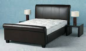 Cheap Leather Bed Frame Guest Bed Day Bed Bed Frames Small Bed Leather Furniture