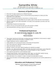 Free Healthcare Resume Templates Entry Level Medical Assistant Resume Samples Best Business Template