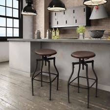Vintage Industrial Bar Stool Industrial Bar Stools Ebay