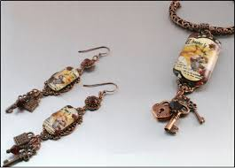 decoupage earrings free e z decoupage projects