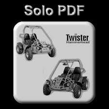 hammerhead twister buggy 150 200 u0026 250 cc service owner u0027s