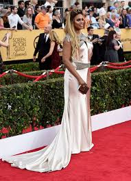 cox wedding dress laverne cox sag awards dress johanna johnson wedding dress 2015