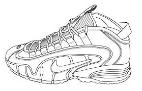 96 ideas running shoes coloring pages on emergingartspdx com
