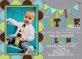 little man birthday invitations a little man u0027s first birthday magic by marcy