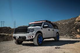 Ford Raptor Blue - white ford 150 svt raptor adv6 m v2 wheels adv 1 wheels