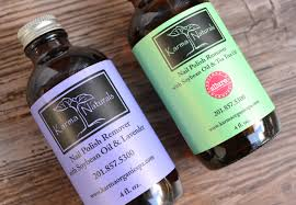 nails karma organic acetone free soybean nail polish remover