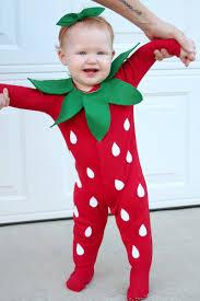 Strawberry Baby Halloween Costume Diy Baby Strawberry Costume Lady U0026 Laura Kate