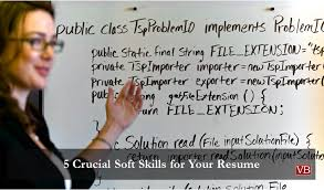 5 crucial soft skills for your resume vincentbenjamin