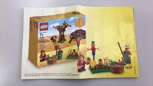 thanksgiving legos lego seasonal thanksgiving 40261 set revealed the brick fan