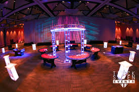 vegas themed event furniture track seven events