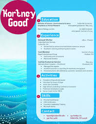 my design for a marine biology resume buy the template for just