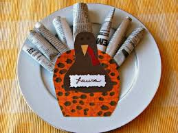 place setting crafts for thanksgiving divascuisine