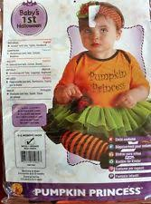Pumpkin Princess Halloween Costume Complete Girls Pumpkin Infant U0026 Toddler Costumes Ebay