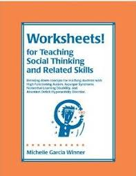 pediastaff resources worksheets for teaching social thinking