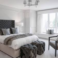 grey and navy bedroom ideas gallery of pc pleated striped
