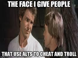 Youre Retarded Meme - alt using troll awareness meme imgflip