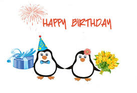 happy birthday cute penguins free happy birthday ecards 123