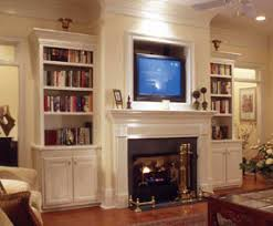 Fireplaces With Bookshelves by Bookshelf Organization House Plans And More