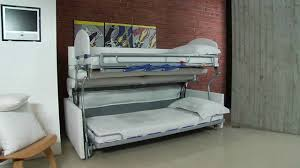 Hi Can Bed by Divano Letto Castello Due Sofa Bunk Bed Youtube