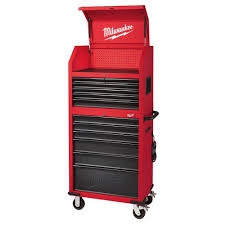home depot shop va black friday milwaukee 46 in 16 drawer tool chest and rolling cabinet set red