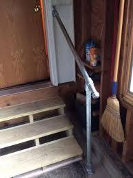 Cheap Banisters 15 Customer Railing Examples For Concrete Steps Simplified Building