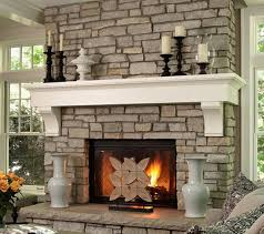 beautiful stone fireplaces interior design ideas