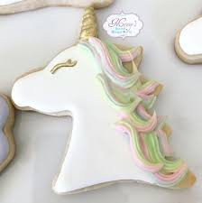Unicorn Christmas Ornament The Iced Sugar Cookie Blog Unicorn Birthday Party The Iced Sugar